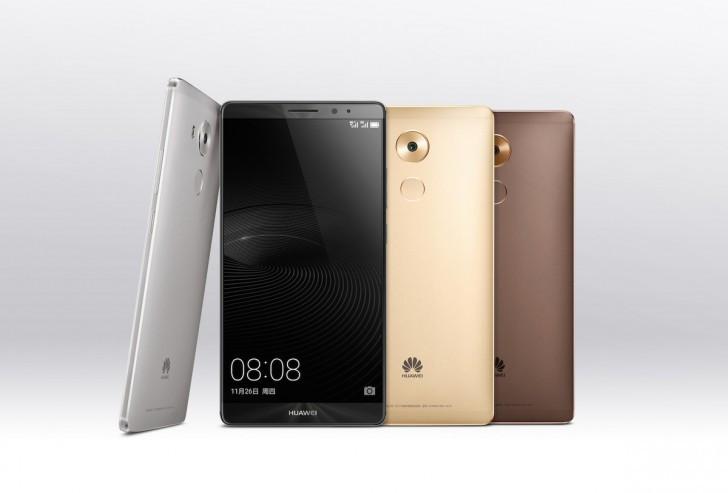 Huawei Mate 8 diresmikan 1