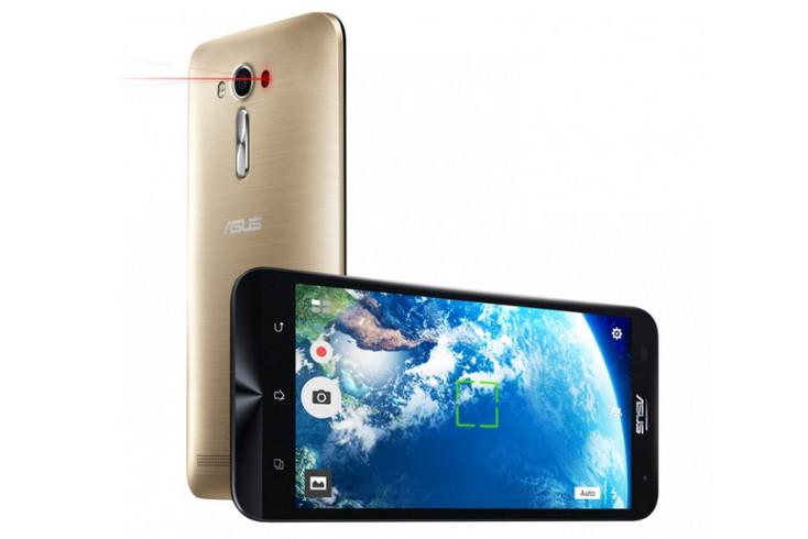 Model Baru Asus Zenfone 2 Laser Hadir di Amerika Serikat