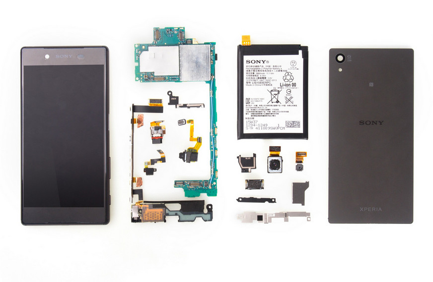 Sony Xperia Z5 Dibedah, Inilah Organ Dalamnya 1