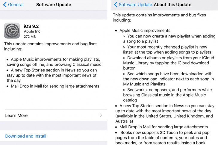 Apple Rilis iOS 9.2, Ini Fitur Barunya
