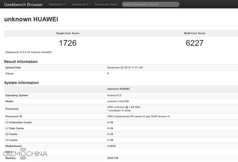 Huawei Honor 7X, Huawei P9