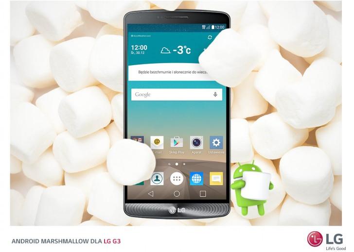 Android 6.0 Marshmallow Untuk LG G3 Mulai Digulirkan