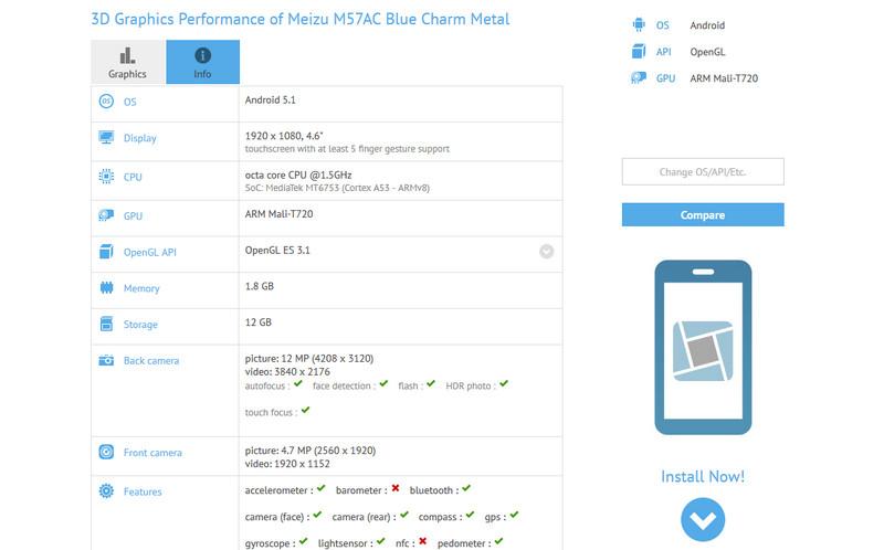 Meizu metal mini