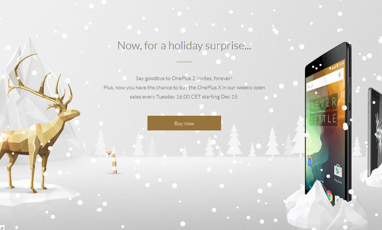 Penjualan OnePlus 2 Tanpa Undangan Akhirnya Dimulai