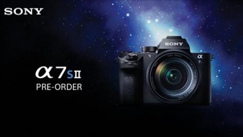Pre-Order Sony A7SII 2