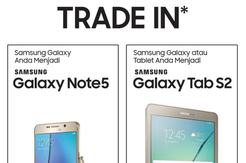 Program tukar tambah trade in Samsung Galaxy Note5