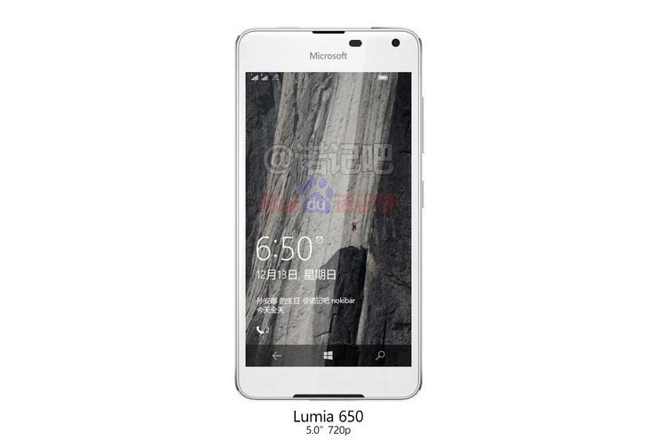 Render Lumia 650