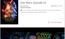 Google Play Buka Pre-Order Star Wars: The Force Awakens