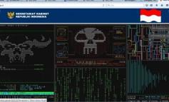 Website Resmi Sekretariat Kabinet (Setkab) Diretas Hacker