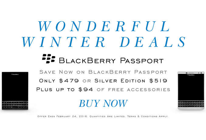 Beli Blackberry Priv & Passport, Konsumen Bisa Dapat Aksesoris Senilai Rp 1,3 Juta