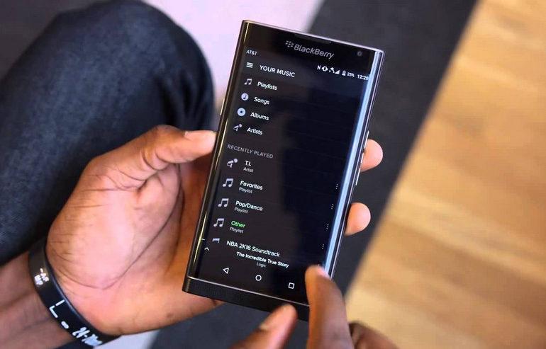 Blackerry Priv Akan Diperbarui ke Android Marshmallow Akhir April Atau Awal Mei