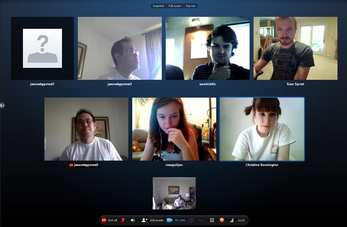 Fitur Group Video Call Hadir di Skype Versi Android, iOS dan Windows 10 Mobile