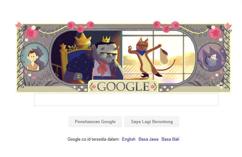 Hari Lahir Charles Perrault Diperingati Google, Siapa Dia?