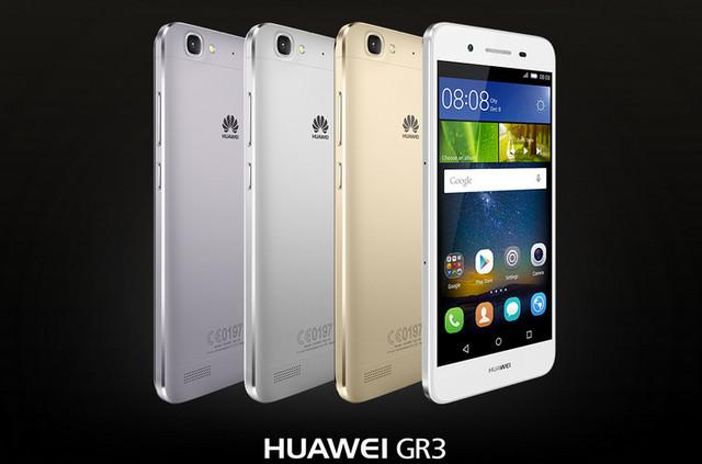 Huawei GR3 Diluncurkan Dengan Layar 5 Inci dan RAM 2GB