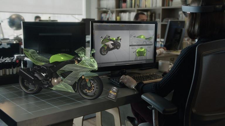 Microsoft Berbagi Rincian Baru HoloLens