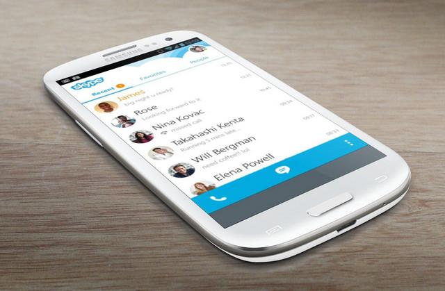 Microsoft Tambahkan Fitur Produktif di Skype Untuk Android