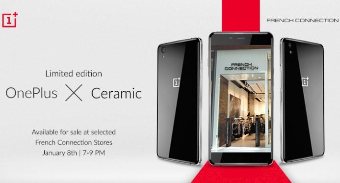 OnePlus X Ceramic Mulai Dijual di India Besok