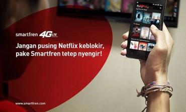 Smartfren Ledek Telkom Karena Blokir Netflix