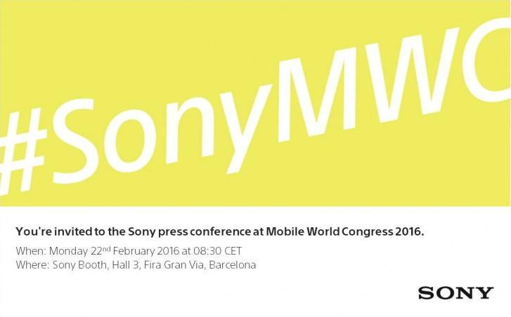 Sony Reservasi Tempat Untuk Acara 22 Februari di MWC 2016