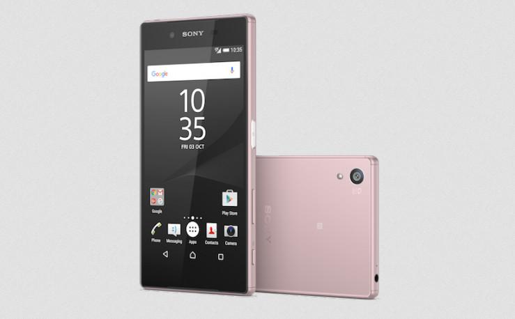 Sony Xperia Z5 Warna Pink Kini Tersedia