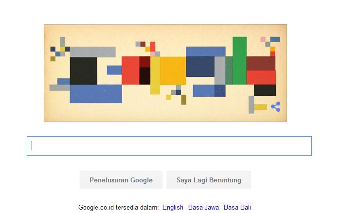 Sophie Taeuber-Arp Muncul di Google Hari Ini