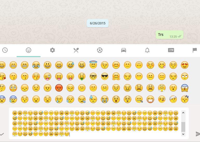 Awas, Teman Iseng Bikin WhatsApp Anda Error Dengan Mengirim Pesan Berisi Penuh Emoji