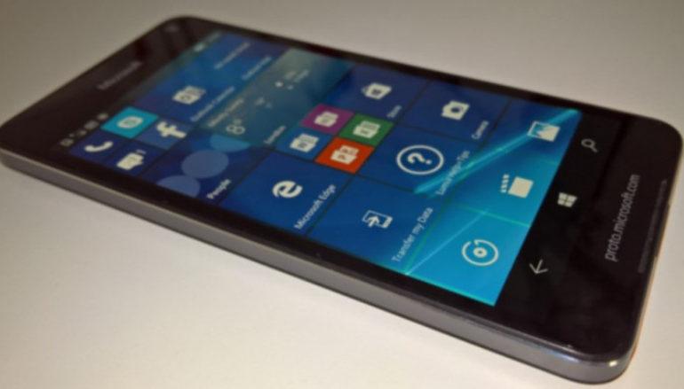 Microsoft Lumia 650 Menampakkan Diri Dalam Gambar Nyata