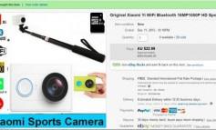 Beli Action Camera Xiaomi Yi di eBay, Orang Ini Malah Dapat Koin