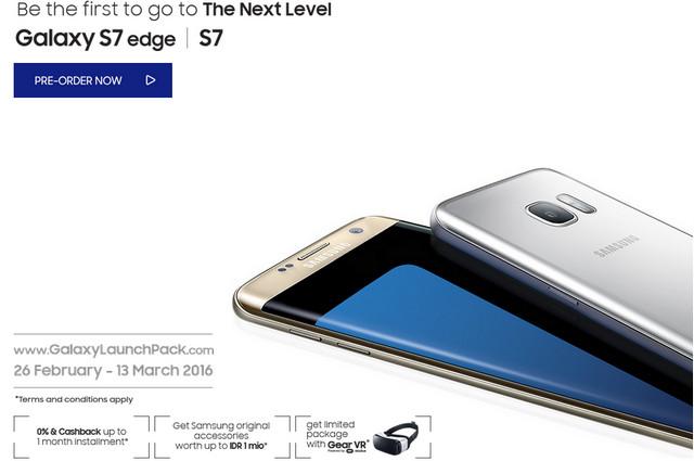 Buka Pre-Order, Harga Samsung Galaxy S7 & S7 edge di Indonesia Dibanderol Rp 8,1 Juta dan Rp 9,6 Juta