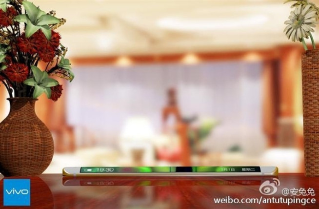 Cakep, Ini Wujud Vivo Xplay 5 Dengan Layar Lengkung