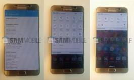 Gambar Bocoran Perlihatkan Samsung Galaxy Note 5 Jalankan Android 6.0.1 Marshmallow