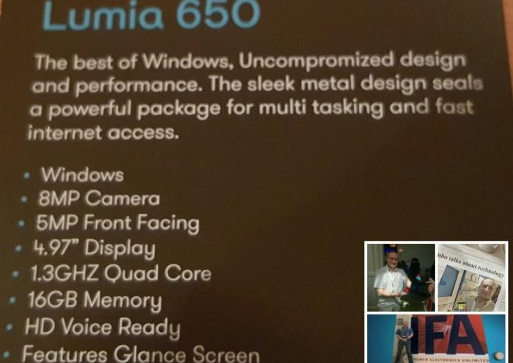 Harga Lumia 650 Terkuak, Spesifikasi Terungkap!