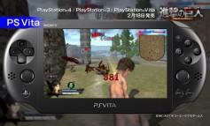 Intip Trailer Attack on Titan Versi PS3 dan PS Vita Disini