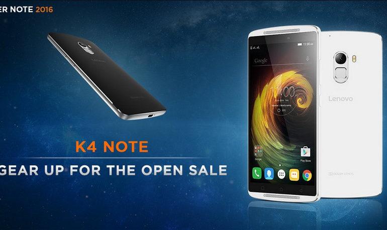Lenovo K4 Note Akan Mulai Dijual Bebas Minggu Depan
