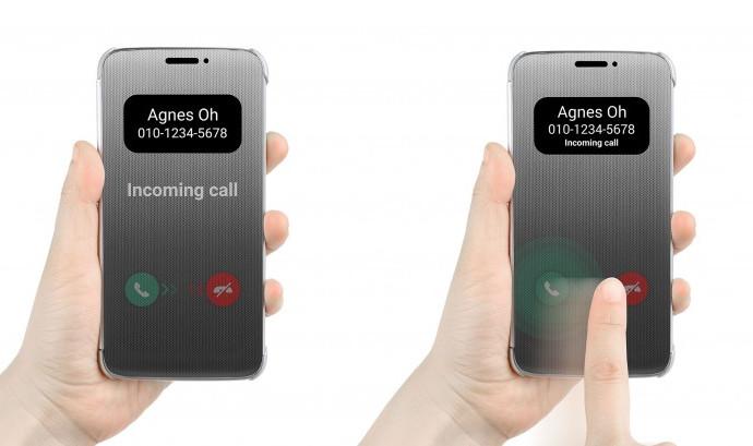 Quick Cover Case Resmi Untuk LG G5 Bisa Berfungsi Seperti Layar Sentuh