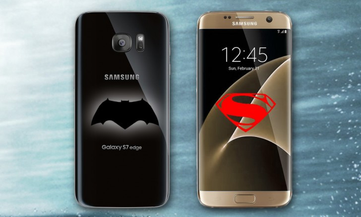 Samsung Galaxy S7 Bakal Tersedia Dalam Edisi Batman v Superman: Dawn of Justice