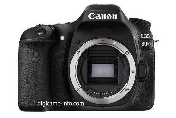 Spesifikasi Terungkap, Wujud Canon EOS 80D Terlihat!