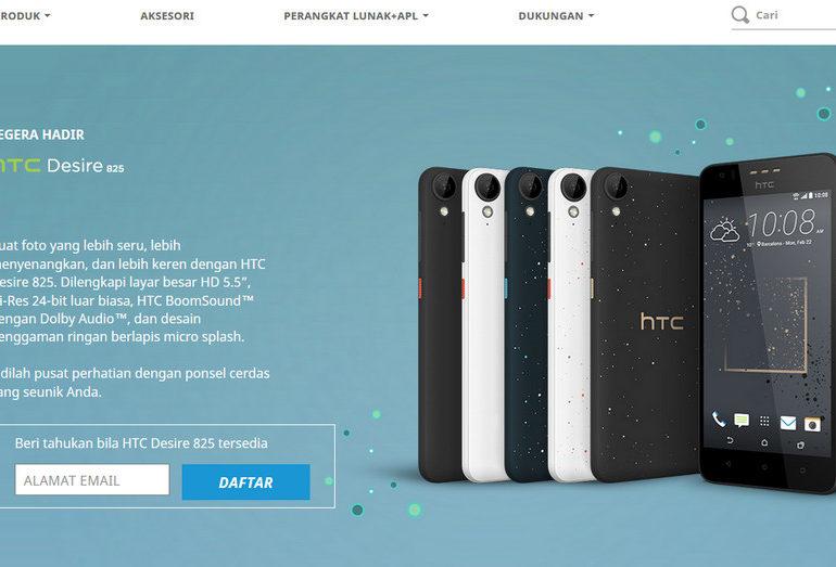 Sttt… HTC Desire 825 & 630 Segera Hadir di Indonesia, Pendaftaran Sudah Dibuka