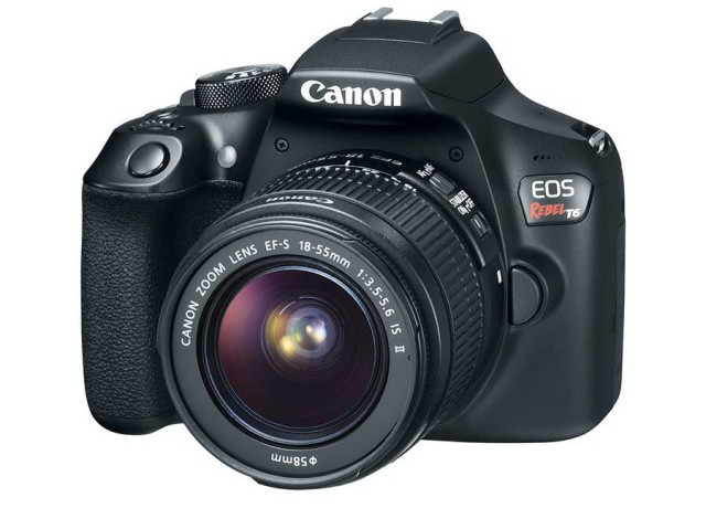 Kamera DSLR Entry-Level Canon EOS Rebel T6 Diluncurkan 1