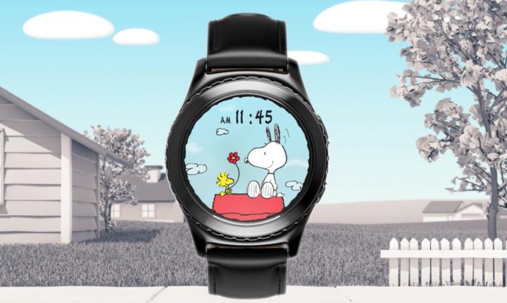 "Samsung Luncurkan ""Wajah Snoopy"" di Gear S2"