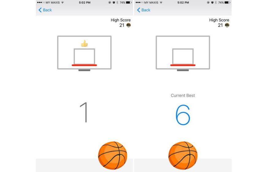 Selain Catur, Facebook Messenger Juga Bisa Untuk Bermain Bola Basket
