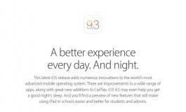 Apple Tahan Update iOS 9.3 Untuk Perangkat Lama
