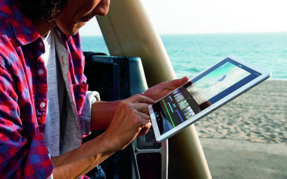 iPad Pro 9.7 Inci Bawa Kamera 12MP Sekelas iPhone iPhone 6s