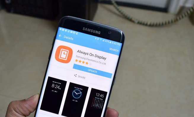 Always On Display Untuk Samsung Galaxy S7 Diperbarui