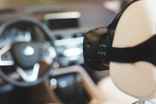 BMW Akan Gunakan HTC Vive Untuk Proses Pengembangan Mobil