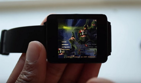 Game PC Windows Counter Strike Bisa Dimainkan di Smartwatch Android Wear
