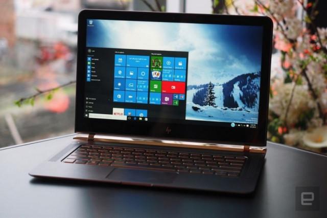 HP Spectre 13.3, Laptop Setipis Baterai AAA Dipamerkan di Perancis 1