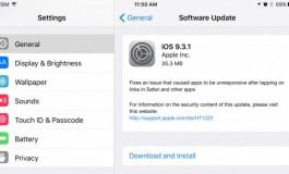 Masalah Bawaan iOS 9.3 Diperbaiki Melalui Update iOS 9.3.1