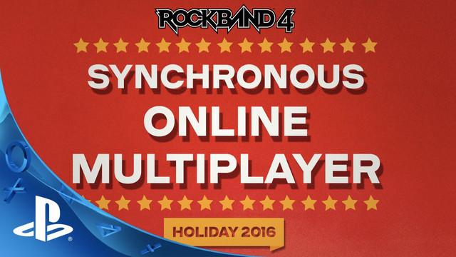 Multiplayer Online Segera Hadir di Rock Band 4