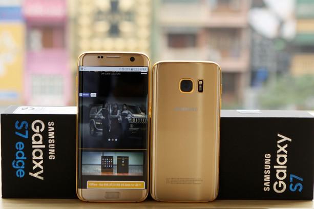 Ponsel Samsung Galaxy S7 & S7 Edge Berlapis Emas Ini Dibanderol Rp 20 Juta